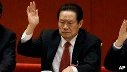 Mantan kepala keamanan dalam negeri China, Zhou Yongkang terjerat kasus korupsi (foto: dok).