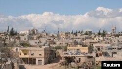 گاؤں خان الاصل کا ایک منظر