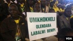 Abalwa impi yenkululeko emhlanganweni abawenze loMongameli Emmerson Mnangagwa