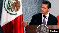 미국 국가안보국이 멕시코 대통령들의 통신을 감청했다는 보도에 멕시코가 자체수사에 착수했다. 사진은 지난 21일 아일랜드를 방문하 엔리케 페냐 니에토 멕시코 대통령.