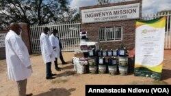 FILE: Umkhuhlane weCOVID-19, owaqhamuke eJohn Tallach High School kumaviki ambalwa edluleyo, usuqahamuke leAnderson Secondary School duzane leGweru. (Photo: Zimbabwe Christian Alliance)