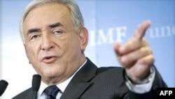 Giám đốc điều hành Quĩ Tiền tệ Quốc tế Dominique Strauss-Kahn