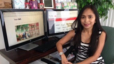 Krissant Saraswati Howell, pebisnis online asal Indonesia di Daphne, Alabama (dok: Krissant Howell)