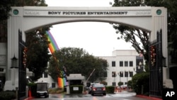 Kantor pusat Sony Pictures Entertainment di Culver City, California.