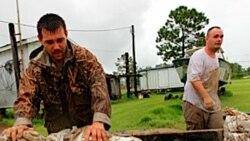 به دليل توفان دريايی وضعيت فوق العاده در لوييزيانا اعلام شد