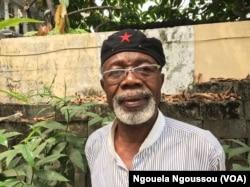 Dr Alex Nzaba lance un SOS pour aider les déplacés du Pool, à Brazzaville, le 20 (VOA/Ngouela Ngoussou)