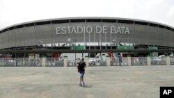 Le stade de Bata