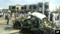 کراچی: پولیس افسر کے گھر پر خودکش حملہ، 8 افراد ہلاک