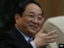 中国政协主席俞正声