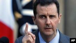 Bachar al-Assad, dans son interview télévisée le 30 mai