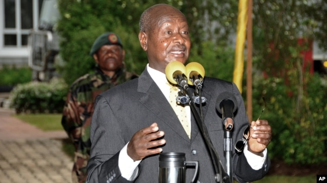 Uganda President Yoweri Museveni (File Photo)