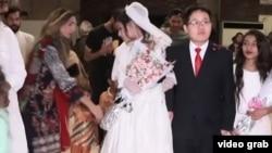 巴基斯坦调查人员安排假结婚追踪人口贩运网络 (视频截图 )