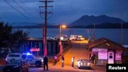 Pantai di Tofino, Kanada dekat lokasi tenggelamnya kapal untuk menonton ikan paus Minggu 25/10 (foto: dok).