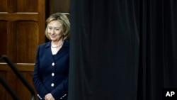 Hillary Clinton hablará este lunes por primera vez sobre el tema de un posible ataque militar contra Siria.