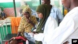 Banadir Hospital in Mogadishu, Somalia, 12 August 2011