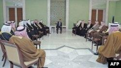 Сирийский Президент Башар Аль-Асад ведет переговоры
