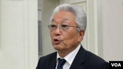 북한의 장웅 국제올림픽위원회(IOC) 위원. (자료사진)