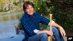Musician John Fogerty poses for a portrait in New York, April 30, 2015.