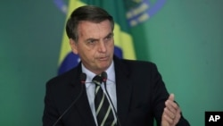 ژائیر بولسونارو رئیس جمهوری برزیل - آرشیو