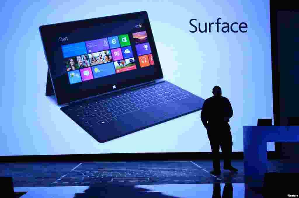 """El director ejecutivo de Microsoft ha presentado a """"Surface"""" en un evento en el que se había convocado a los medios sin avisar de lo que se trataba."""