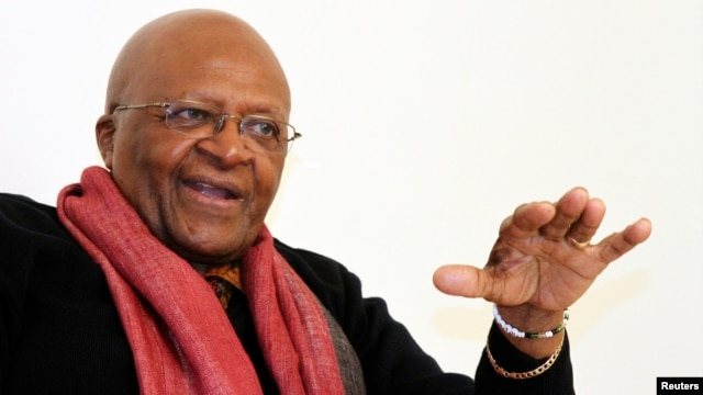 Nobel Peace Prize winner Archbishop Desmond Tutu of South Africa, is one of 14 elder statesmen from around Africa who have penned a letter to President Salva Kiir and opposition leader Riek Machar, urging them to immediately end the violence in South Sudan.