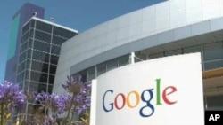 谷歌公司总部。H1-B签证允许谷歌等不少高科技公司雇用熟练的外国工人在美国工作三年。