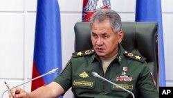 세르게이 쇼이구 러시아 국방장관. (자료사진)