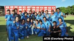 afghan cricket team in zimbabway