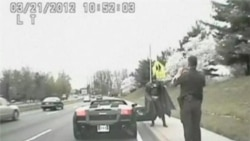 Batman Pulled Over for Traffic Violation