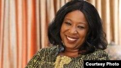 Dr. Diene Keita, ministre guinéenne de la Coopération et de l'Intégration Africaine.