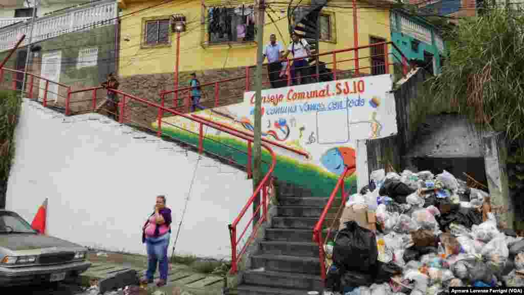 La basura es una amenaza para la salud de los pobladores de Petare.