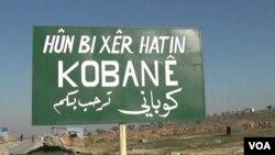 Kobane welcome