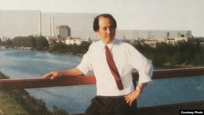 Doanh nhân Trịnh Vĩnh Bình năm 1990.