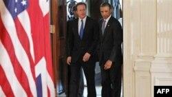 Президент США Барак Обама и премьер-министр Великобритании Дэвид Кэмерон.
