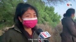 La VOA en la frontera: relatos de migrantes y menores no acompañados