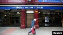 伦敦罗素广场车站