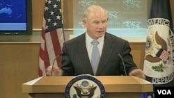 Crowley dijo que las conversaciones son para garantizar que Venezuela cumpla con las sanciones.