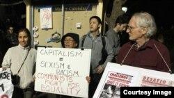Tư bản là kỳ thị còn cộng sản đấu tranh cho bình quyền. Có người Việt nào đồng ý không? (Ảnh: Bùi Văn Phú)