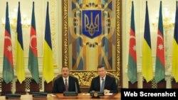 Ukrayna və Azərbaycan arasnda 5 sənəd imzalanıb