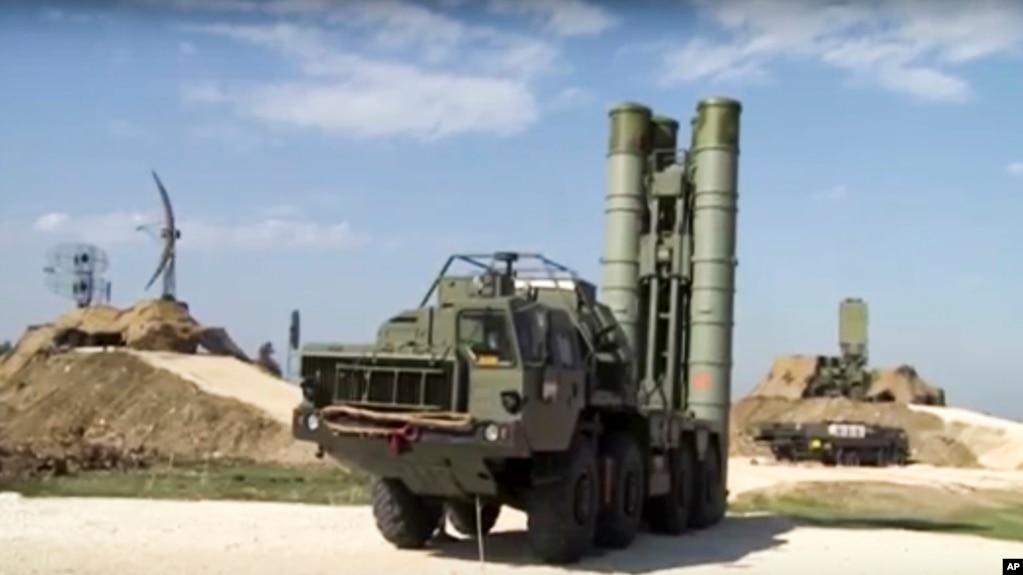 러시아의 S-400 지대공 미사일.