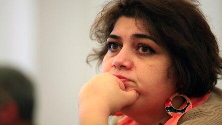 Cựu trưởng văn phòng Baku của Đài Âu châu Tự do  Khadija Ismayilova.