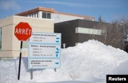 Laboratorium Kontrol Doping, di National Institute of Scientific Research Center (INRS) Institute Armand-Frappier di Laval, Quebec, Kanada 15 Januari 2018. (REUTERS/Christinne Muschi)