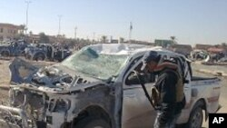 عراق خودکش بم دھماکوں میں چارپولیس اہلکار ہلاک