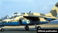 Jirgin Saman Yakin Najeriya Kirar Alpha-Jet