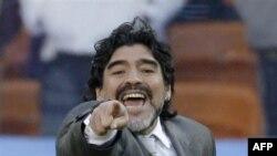 Diego Maradona (AP Photo/Frank Augstein)