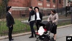 Уильямсбург - один из традиционно еврейских районов в Бруклине, Нью-Йорк