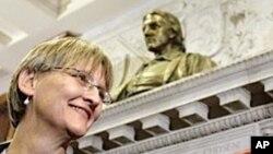 Drew Gilpin Faust, 28. predsjednica, i prva žena-predsjednik Sveučilišta Harvard