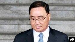 Thủ tướng Hàn Quốc Chung Hong Won xin từ chức sau khi công chúng tỏ ý bất bình về sự ứng phó của chính phủ ông đối với thảm họa chìm phà ngày 16 tháng 4 làm hơn 300 người thiệt mạng hoặc mất tích.