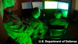 美国军方提供的网军示意图