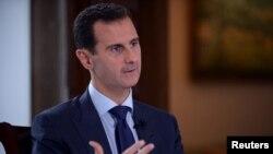 Le président syrien Bashar al-Assad